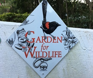 Garden for Wildlife Sign