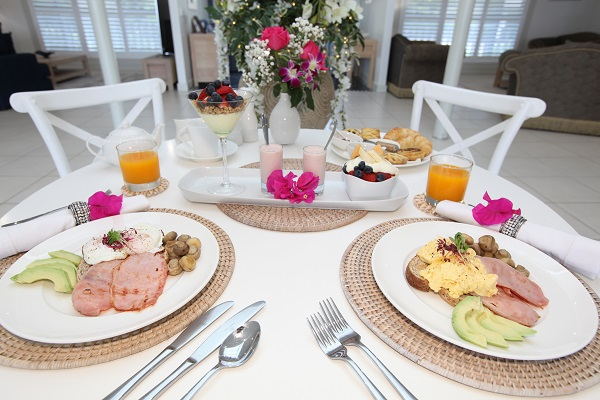 Your 5 Star Luxury Experience in Montville Cooked Breakfast